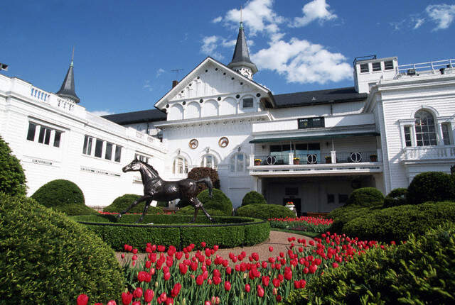 Beautiful and timeless Churchill Downs, site of the Kentucky Derby.