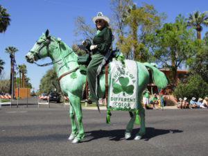 Green horse? Not. Exactly.