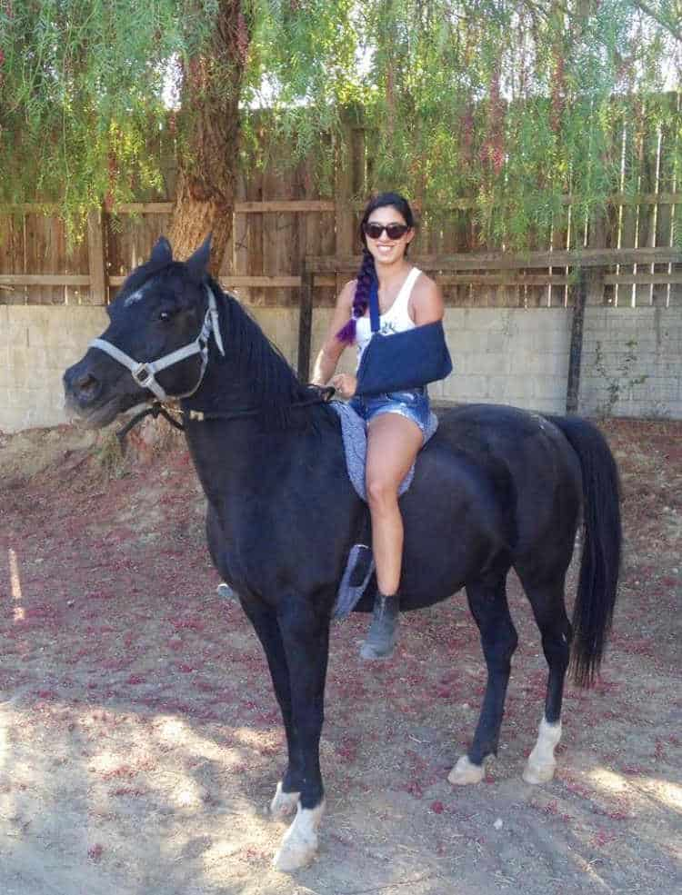 Kelsey Faucon- hundred year old pony
