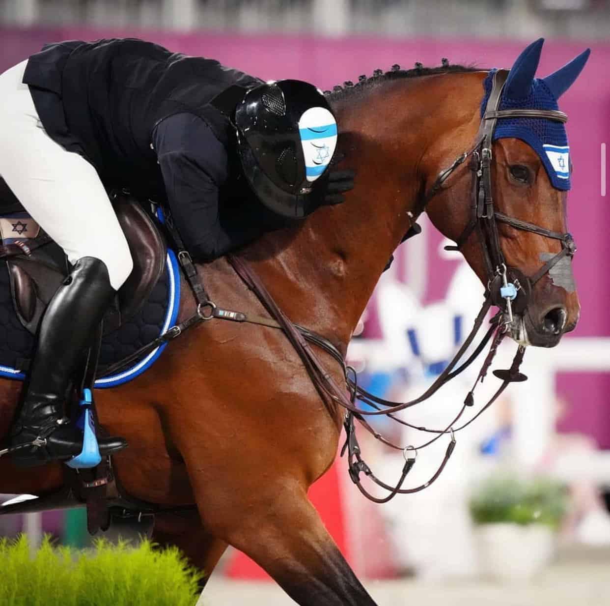 Ashlee Bond Hugging Her Horse